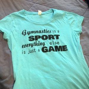 Other - Cute gymnastics shirt!!